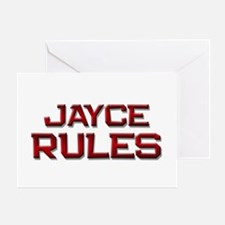 jayce rules Greeting Card