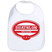 Duathlon Red Oval-Women's Spectator Bib