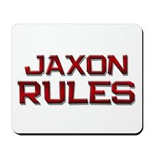 jaxon rules Mousepad