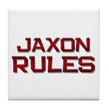 jaxon rules Tile Coaster