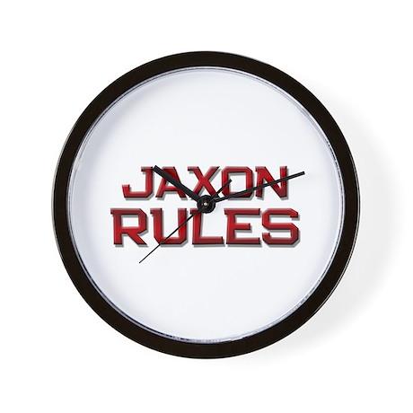 jaxon rules Wall Clock