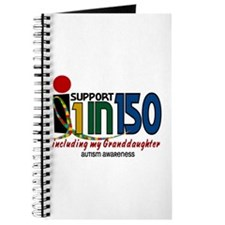 I Support 1 In 150 & My Granddaughter Journal