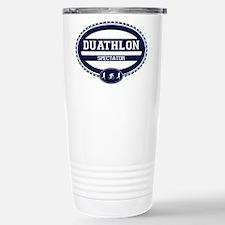 Duathlon Blue Oval-Men's Spectator Travel Mug