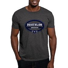 Duathlon Blue Oval-Men's Spectator T-Shirt