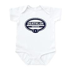 Duathlon Blue Oval-Men's Spectator Infant Bodysuit