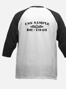 USS SAMPLE Kids Baseball Jersey