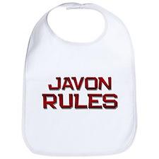 javon rules Bib