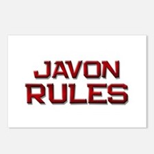 javon rules Postcards (Package of 8)