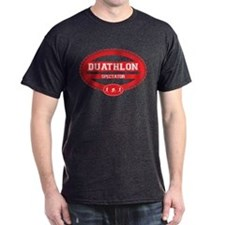 Duathlon Red Oval-Men's Spectator T-Shirt
