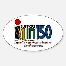 I Support 1 In 150 & My Grandchildren Decal