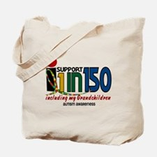 I Support 1 In 150 & My Grandchildren Tote Bag