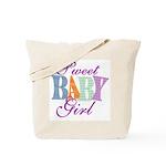 Sweet Baby Girl Diaper & Tote Bag