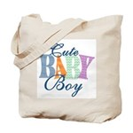 Cute Baby Boy Diaper & Tote Bag