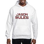 jason rules Hooded Sweatshirt