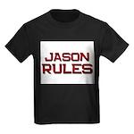 jason rules Kids Dark T-Shirt