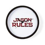 jason rules Wall Clock