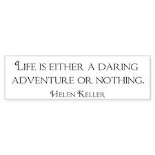 Helen Keller Bumper Bumper Sticker