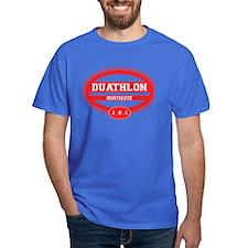 Duathlon Red Oval-Women's Duathlete T-Shirt