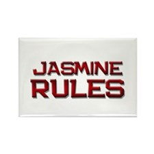 jasmine rules Rectangle Magnet