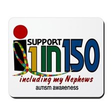 I Support 1 In 150 & My Nephews Mousepad