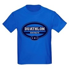 Duathlon Blue Oval-Women's Duathlete T