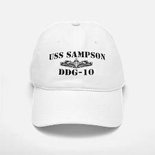 USS SAMPSON Baseball Baseball Cap