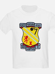 USS SAMPSON T-Shirt
