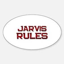 jarvis rules Oval Decal