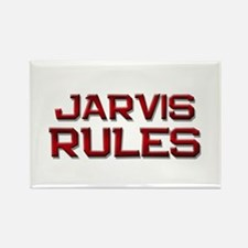jarvis rules Rectangle Magnet