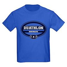 Duathlon Blue Oval-Men's Duathlete T