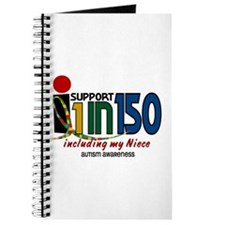 I Support 1 In 150 & My Niece Journal
