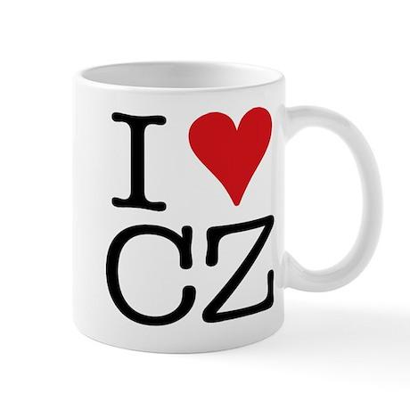 I Love Czech Mug