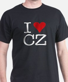 I Love Czech T-Shirt