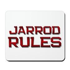 jarrod rules Mousepad