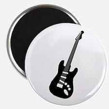 Guitar Silhouette Magnet