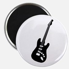 """Guitar Silhouette 2.25"""" Magnet (100 pack)"""