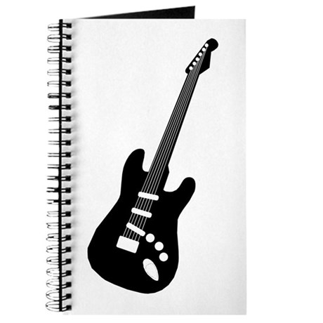 Guitar Silhouette Journal