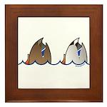 Duck Butts Framed Tile