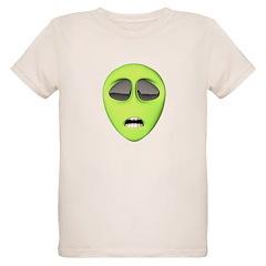Funny Frightened Alien T-Shirt