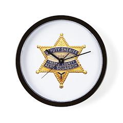 Fresno Sheriff Aero Wall Clock