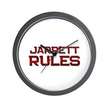 jarrett rules Wall Clock
