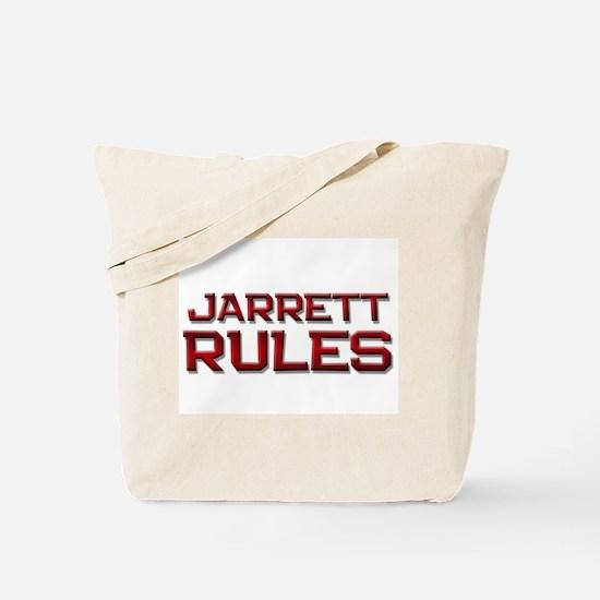 jarrett rules Tote Bag