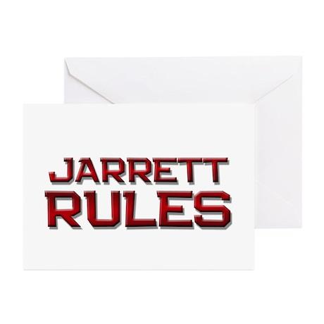 jarrett rules Greeting Cards (Pk of 10)