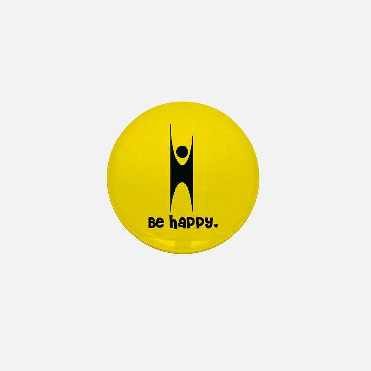 Happy Humanist Mini Button