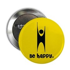 "Happy Humanist 2.25"" Button"