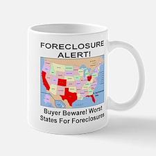 Worst States For Foreclosure Mug