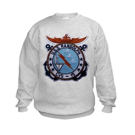 USS RANDOLPH Kids Sweatshirt