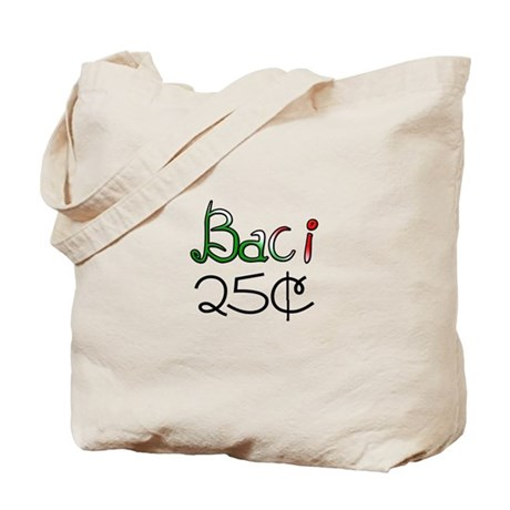 Baci 25 Cents Tote Bag