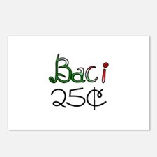 Baci 25 Cents Postcards (Package of 8)