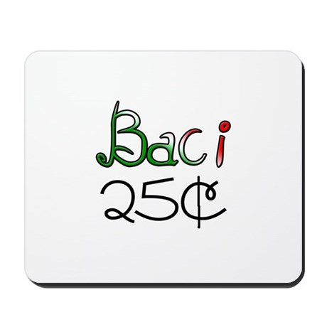 Baci 25 Cents Mousepad
